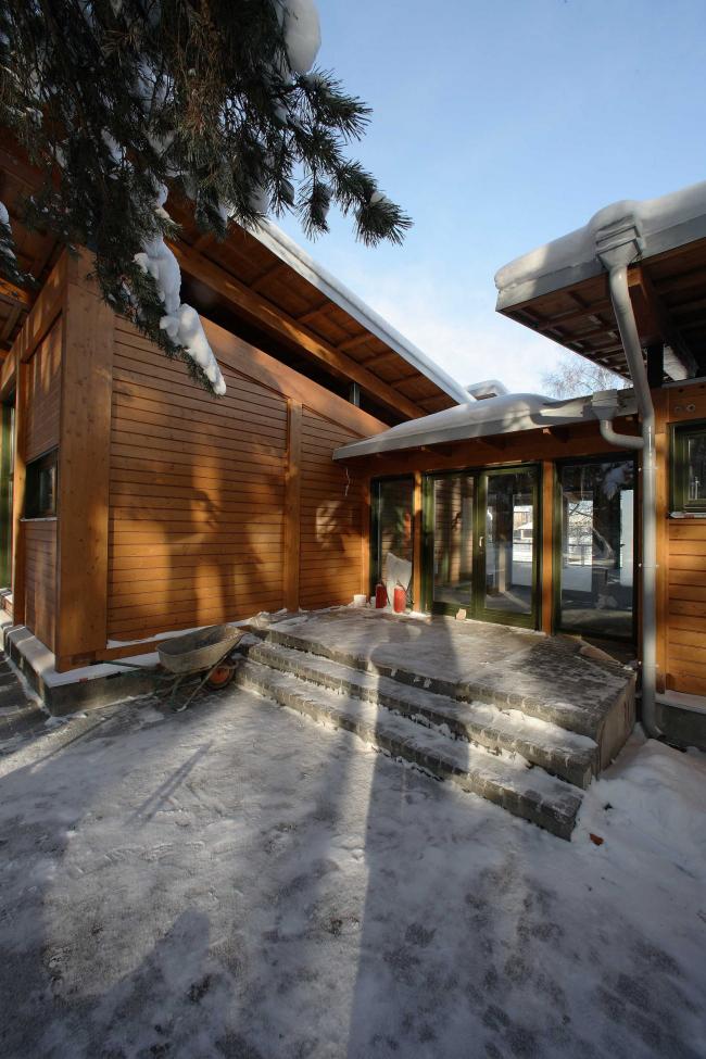 Гостевой дом © Архитектурное бюро Романа Леонидова