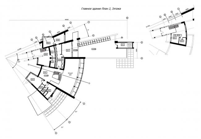 Планы второго и третьего этажей