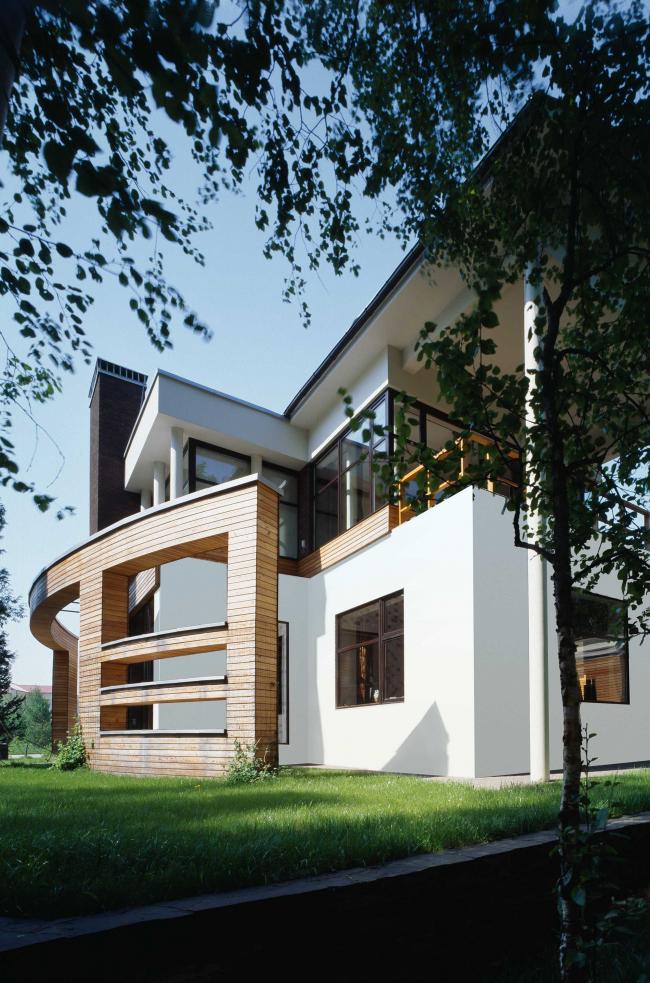 Загородный дом в Московской области © Архитектурное бюро Романа Леонидова