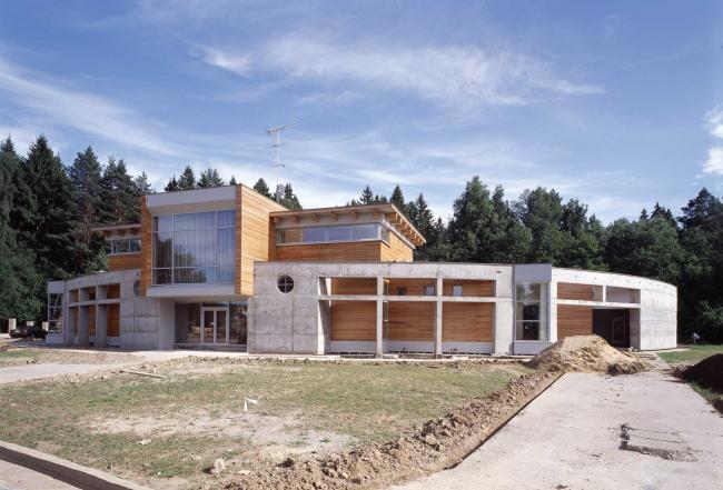 Загородный жилой дом в ближнем Подмосковье © Архитектурное бюро Романа Леонидова