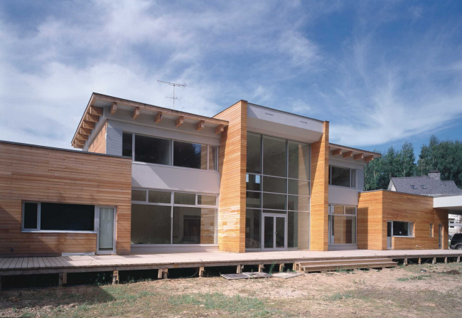 загородные жилые дома фото
