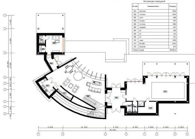 Загородный дом в Подмосковье © Архитектурное бюро Романа Леонидова