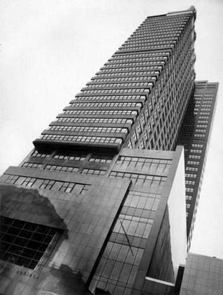 Джордж Хоу и Уильям Лесказ. Здание Фонда Филадельфийского сберегательного общества. Филадельфия. 1932. Фотограф Бен Шнэлл