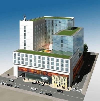 Проект на месте усадьбы купца Алексеева на улице Бахрушина, 11. Фото с сайта www.archnadzor.ru