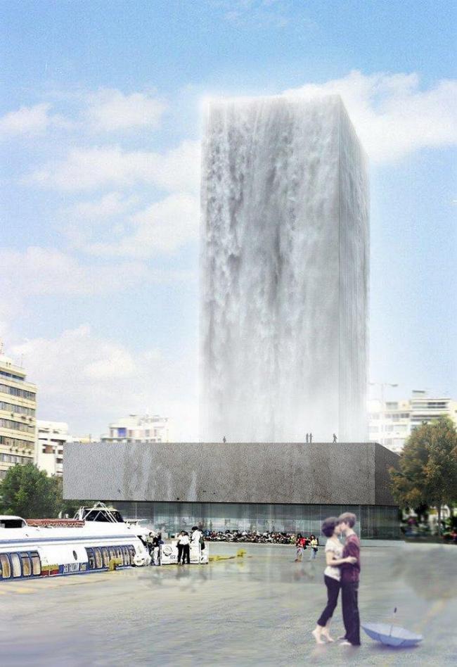 «Афинский водопад»