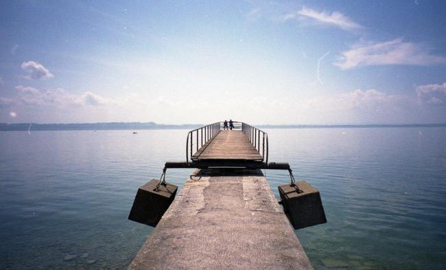Невшательское озеро. Фото предоставлено Тимуром Шабаевым