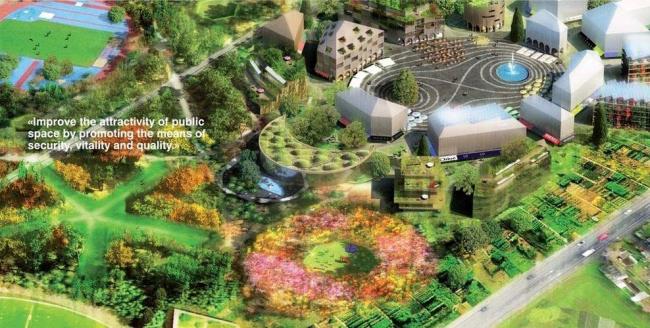 Проект «Urban Composition» Ива Бахманна и Куботы Тошихиро
