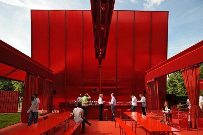 Летний Павильон Галереи Серпентайн 2010. Проект ©  Ateliers Jean Nouvel