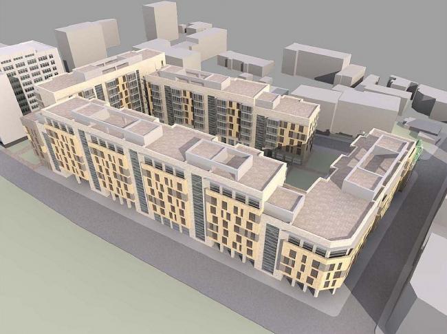Реорганизация территории Фабрики «РОТ ФРОНТ» со строительством жилого комплекса