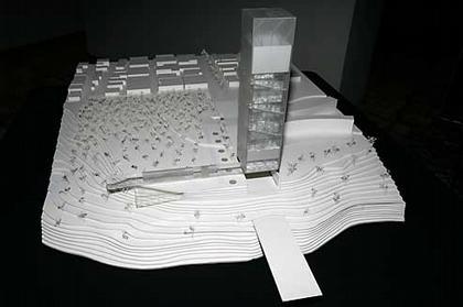 Проект Музея Гуггенхайма в Гвадалахаре. Макет