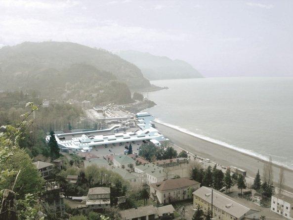 Пограничный КПП Сарпи