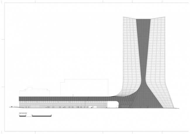 Штаб-квартира компании CMA CGM © Zaha Hadid Architects