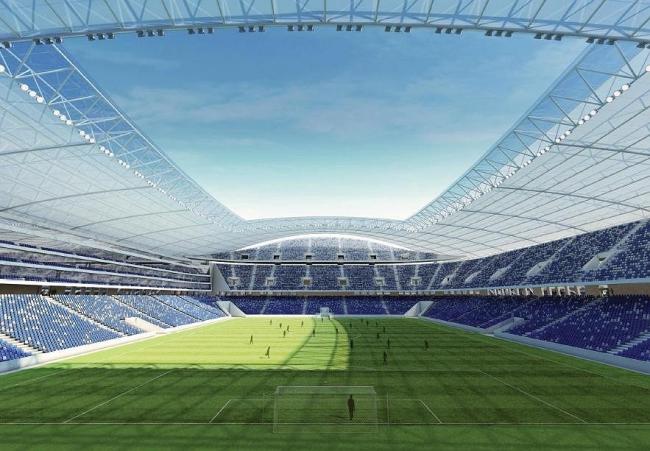 ВТБ Арена парк. Проект реконструкции стадиона