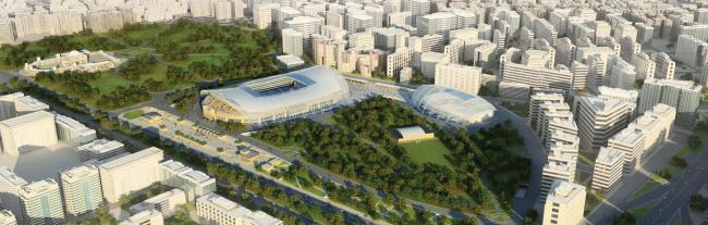ВТБ Арена парк. Конкурсный проект реконструкции стадиона «Динамо»