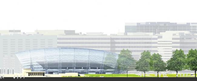 ВТБ Арена парк. Проект реконструкции стадиона «Динамо». Малая арена