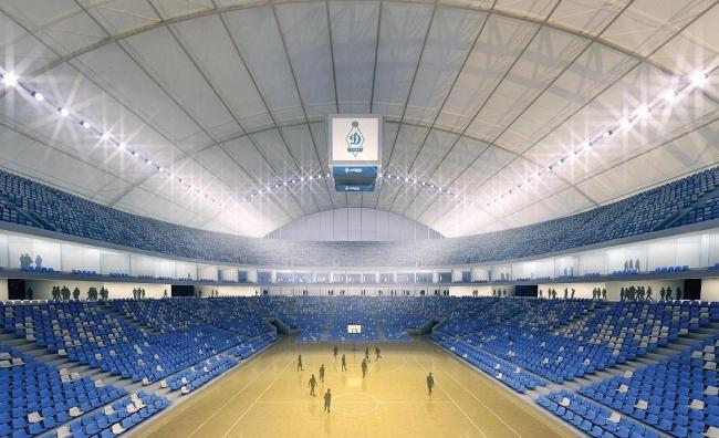 ВТБ Арена парк. Проект реконструкции стадиона «Динамо». Малая арена. Интерьер