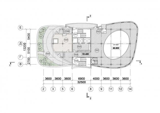 План пятнадцатого этажа