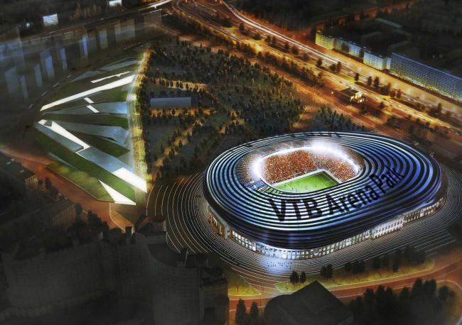 "VTB Arena Park. ""Dinamo"" stadium reconstruction project"