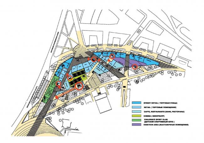 ВТБ Арена парк. Проект реконструкции стадиона «Динамо» © ABD Architects и Perkins Eastman International