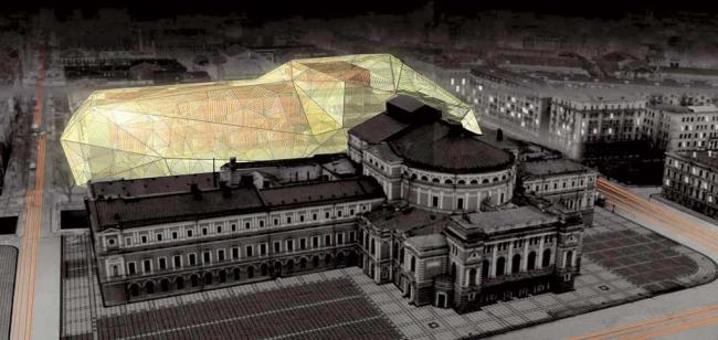 Доминик Перро. Проект Мариинки II