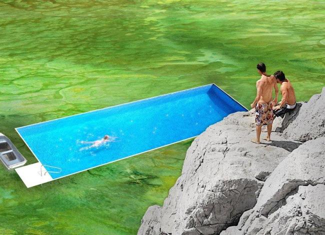 Студия Enviroments of Collectivity. Курорт в Врсаре: отдых в окружении водорослей. Timur Shabaev
