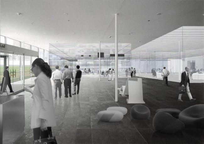 Студия Metropolitan Imprints. «Городской вестибюль» в проекте Strips. Andreas Karavanas
