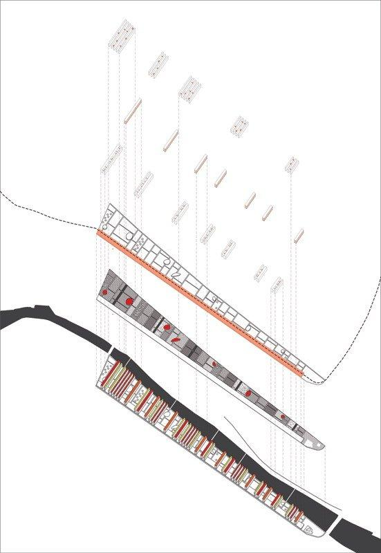 Студия Metropolitan Imprints. Проект Strips: элементы квартала. Andreas Karavanas
