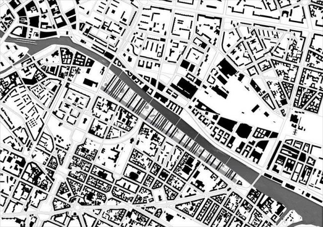 Студия Metropolitan Imprints. Проект Strips. Генплан. Andreas Karavanas