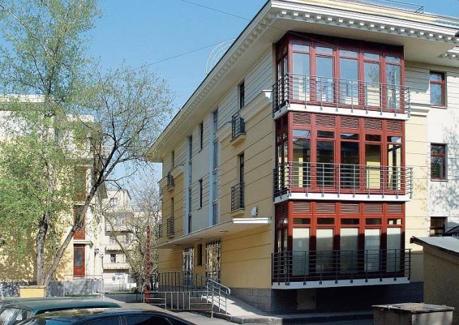 Жилой дом на Б. Ордынке. Реализация, 2002 © Архитектурная мастерская Павла Андреева