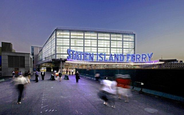 Вокзал Парома Стейтен-Айленда, Манхэттен, 2008 г. Визуализация © Frederic Schwartz Architects