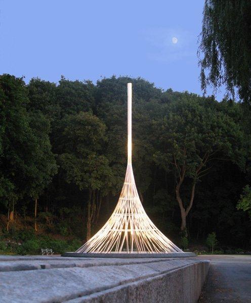 Мемориал жертв 11-го сентября, Вестчестер, Штат Нью-Йорк, 2006 г. Фото © Frederic Schwartz Architects