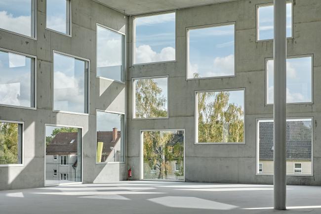 Школа менеджмента и дизайна Цольферайн. Фото: August Fischer via Wikimedia Commons. Лицензия CC BY-ND 2.0