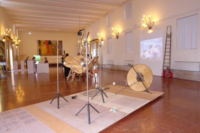 Вид экспозиции Архитектурной Ассоциации