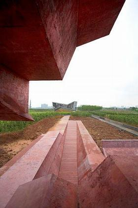 Павильон в архитектурном парке Цзиньхуа