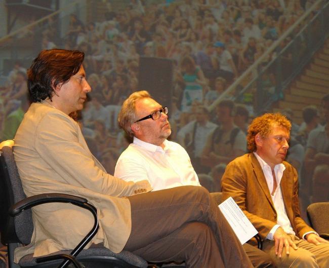 Дмитрий Ликин, Олег Шапиро, Александр Мамут. Фото Нины Фроловой