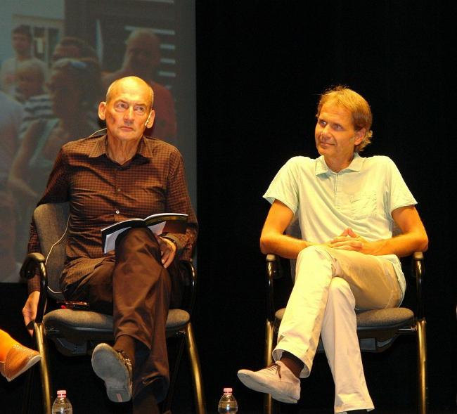 Рем Колхас и Михаэль Шиндхельм. Фото Нины Фроловой