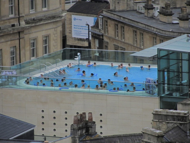 "Спа-центр ""Thermae Bath Spa"". Фото: Colin Park via Wikimedia Commons. Лицензия CC BY-SA 2.0"