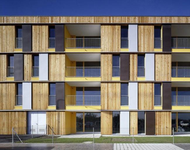 Жилой комплекс «Мюльвег». Вена.  Фотография: бюро Кауфмана