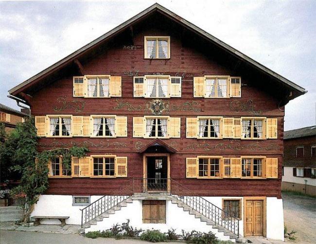 Реконструкция жилого дома XVIII века под ресторан и гостиницу. Шварценберг. Фотография: бюро Кауфмана
