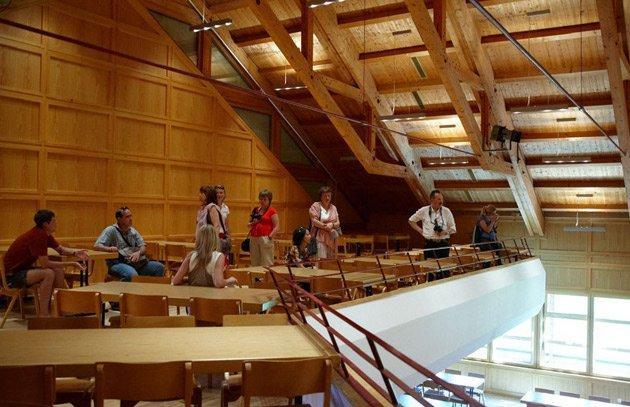 Концертный зал для международного фестиваля «Шубертиада». Шварценберг.  Фотография: Юлия Назаренко