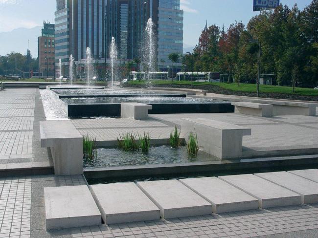Проект «Стратегия открытого пространства Эсториль» в Сантьяго-де-Чили