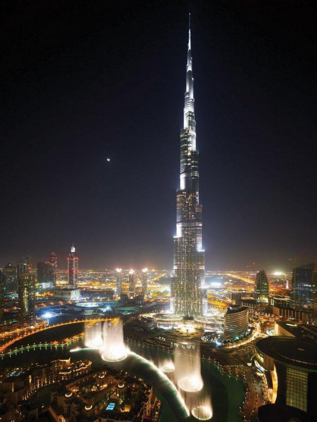 Небоскреб «Бурж Халифа» в Дубае