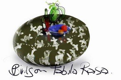 Стол из кориана – фрагмент инсталляции Lo-Rez-Dolores-Tabula-Rasa