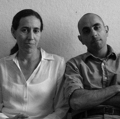 Моника Понсе де Леон и Надир Техрани