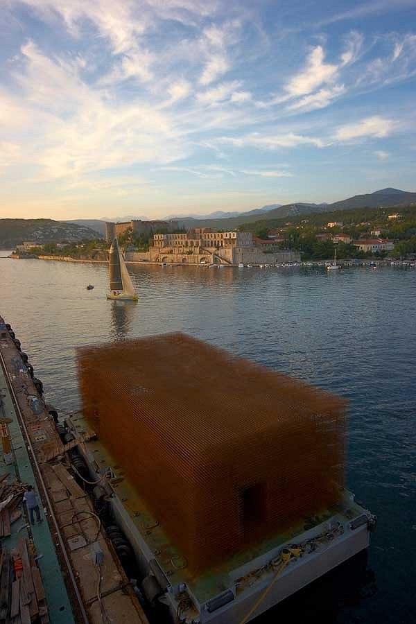 Павильон Хорватии в порту Риеки. Фото предоставлено организаторами