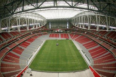 Стадион «Кардиналс». Внутренний вид. Фото