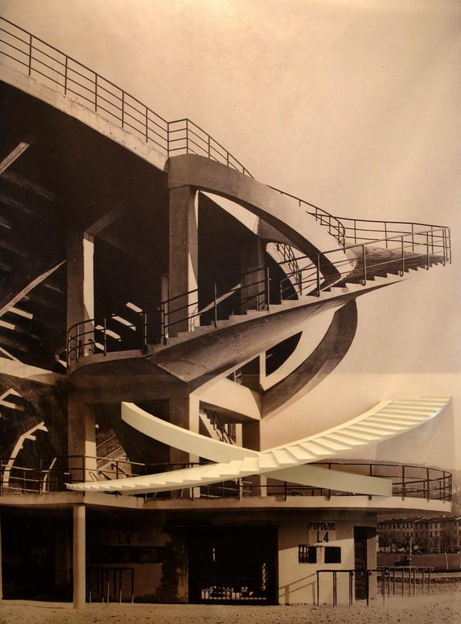 Выставка «Пьер Луиджи Нерви. Архитектура как вызов». Стадион Берта во Флоренции
