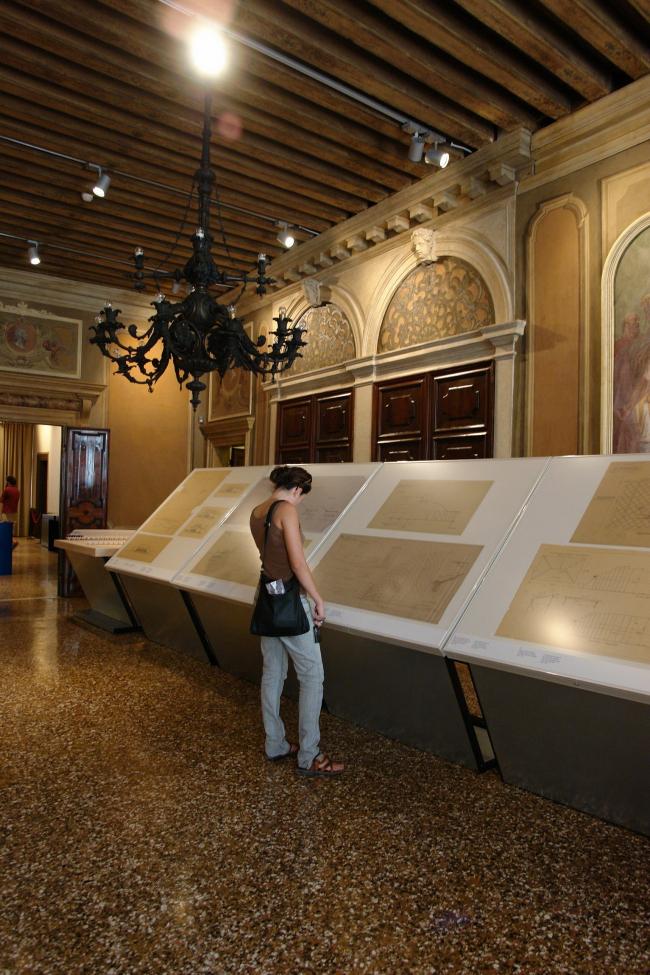 Вид экспозиции «Пьер Луиджи Нерви. Архитектура как вызов». Фото Нины Фроловой