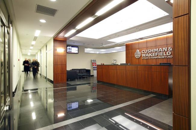 офис компании Cushman & Wakefields Styles & Riabokobylko
