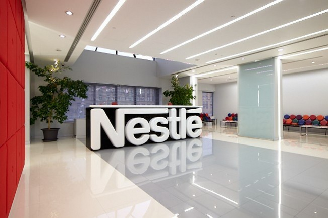 офис компании Nestle